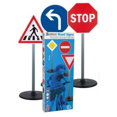 Óriás közlekedési jelzőtáblák