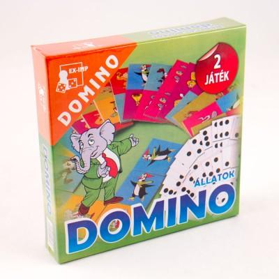 Domino, állatok