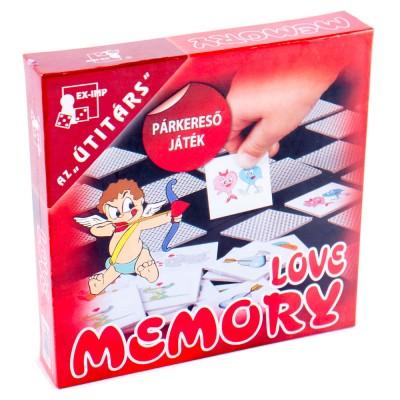 Love memory társasjáték