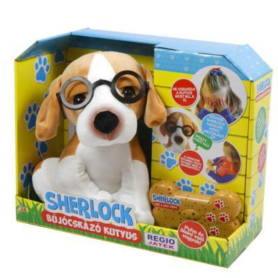 Sherlock bújócskázó kutyus