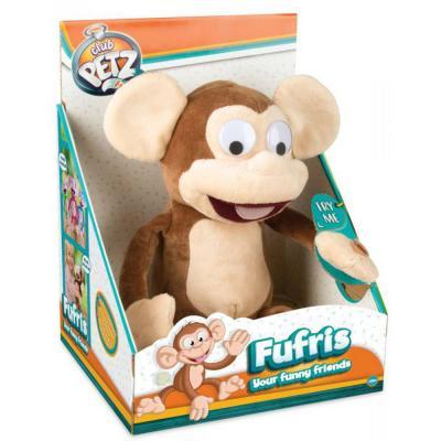 Vicces majom interaktív plüssfigura