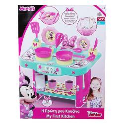 Disney Minnie egér játékkonyha, 12 kiegészítővel