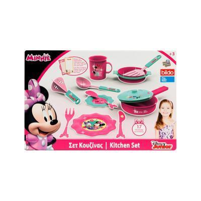 Disney Minnie egér konyhai étkészlet, 17 darabos  12/#