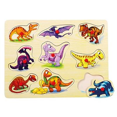 Fa formajáték, dinoszaurusz