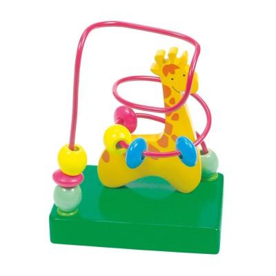 Fa golyóvezető játék, zsiráf