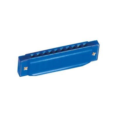 Játék szájharmonika, kék