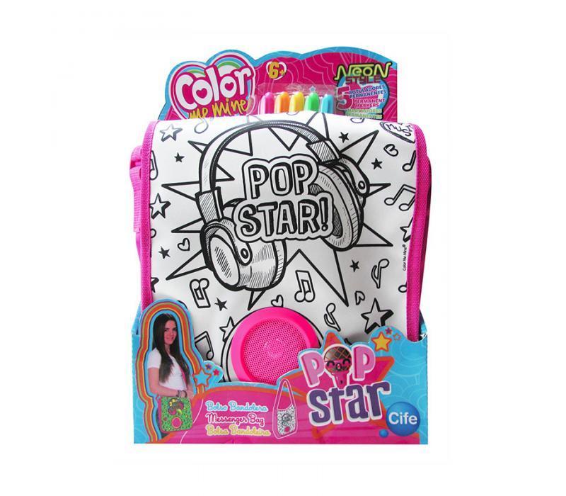 Color Me Mine Pop Star színezhető oldaltáska