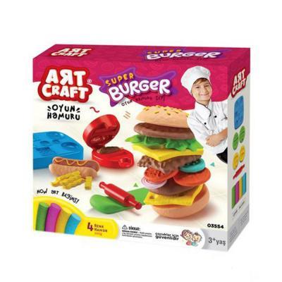 Art Craft hamburger készítő gyurmakészlet