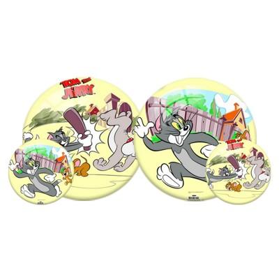 Tom és Jerry gumilabda, 23 cm