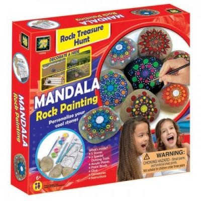 Mandala kőfestő készlet