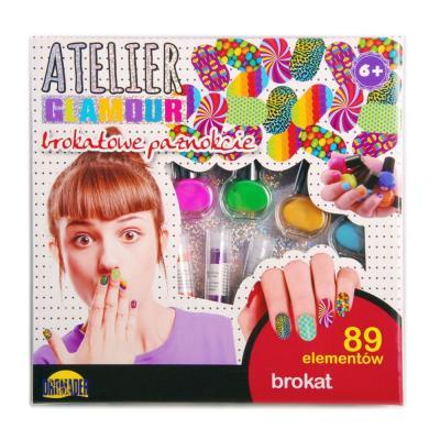 Atelier Glamour csillámos körömdíszítő készlet