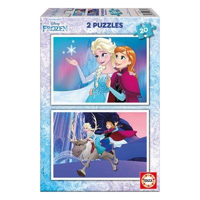 Educa Disney Jégvarázs puzzle, 2x20 darabos