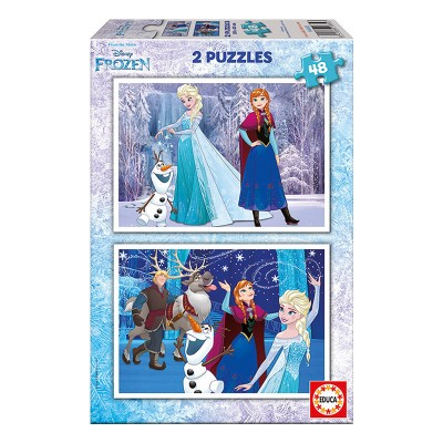 Educa Disney Jégvarázs puzzle, 2x48 darabos 16852
