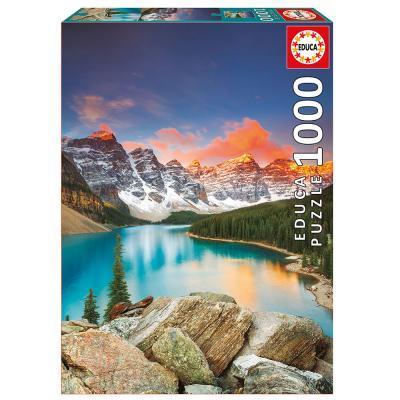 Educa A Kanadai Moraine tó puzzle, 1000 darabos