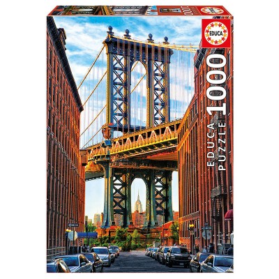 Educa A New York-i Manhattan híd puzzle, 1000 darabos