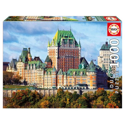 Educa A kanadai Chateau Frontenac szálloda puzzle, 1000 darabos