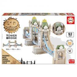 Educa A londoni Tower Bridge 3D puzzle, 92 darabos