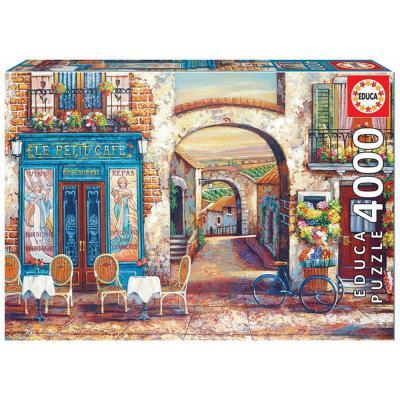 Educa A pici kávézó puzzle, 4000 darabos