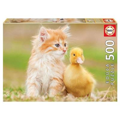 Educa Aranyos kisbarátok puzzle, 500 darabos