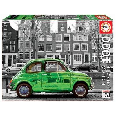 Educa Autó Amszterdamban puzzle, 1000 darabos