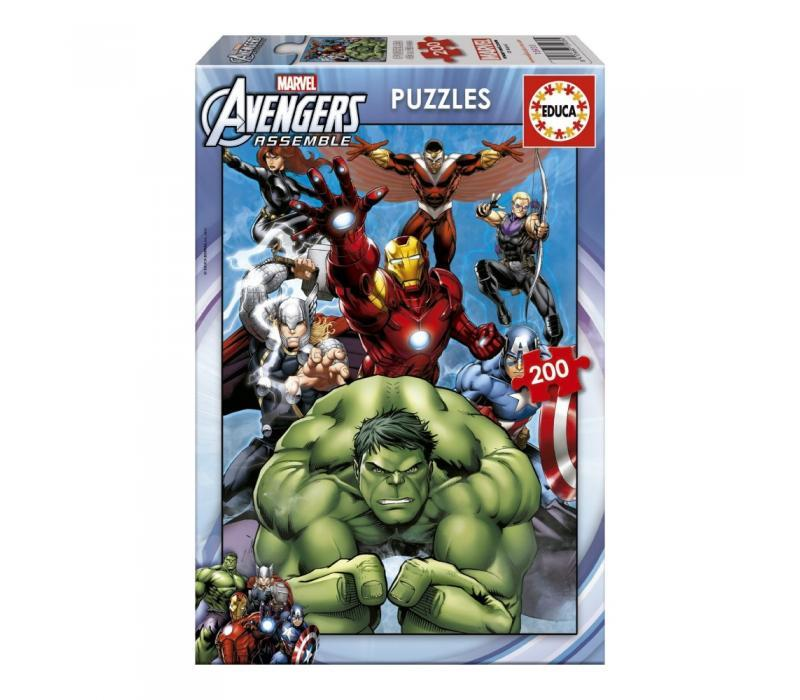 Educa Avengers puzzle, 200 darabos