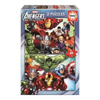 Educa Avengers puzzle, 2x48 darabos