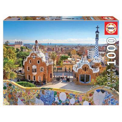 Educa Barcelona Güell Park puzzle, 1000 darabos