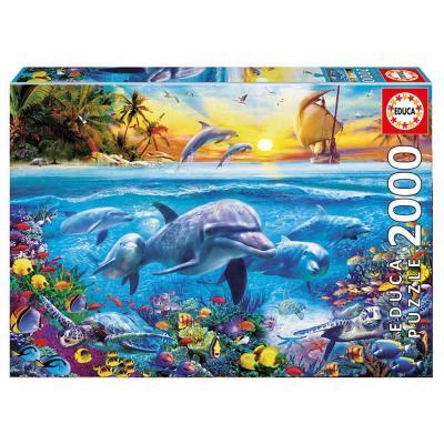 Educa Delfincsalád puzzle, 2000 darabos