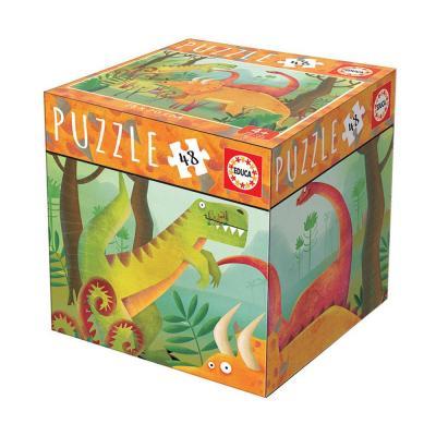 Educa Dinoszaurusz puzzle, 48 darabos