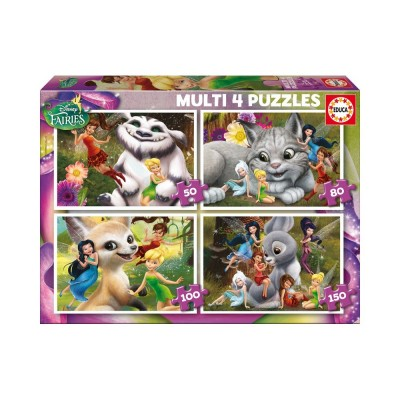 Educa Disney Csingiling puzzle, 4 az 1-ben