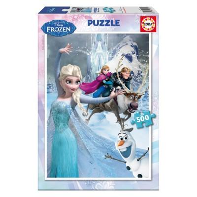 Educa Disney Jégvarázs puzzle, 500 darabos