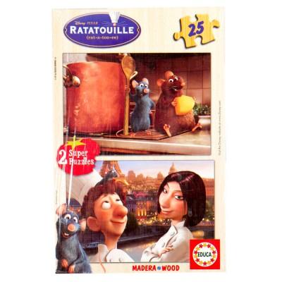 Educa Disney Lecsó fa puzzle, 2x25 darabos
