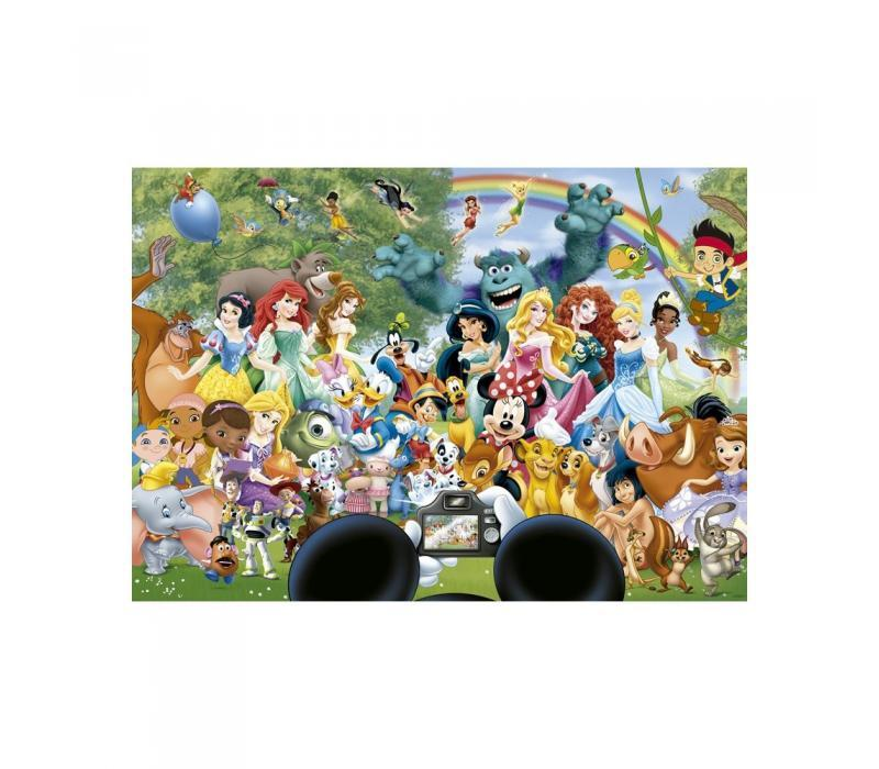 Educa Disney Mesehősök csoportkép puzzle, 1000 darabos
