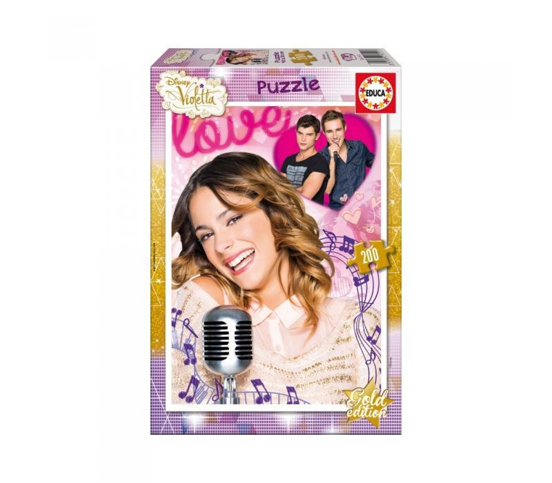 Educa Disney Violetta Arany kiadás puzzle, 200 darabos