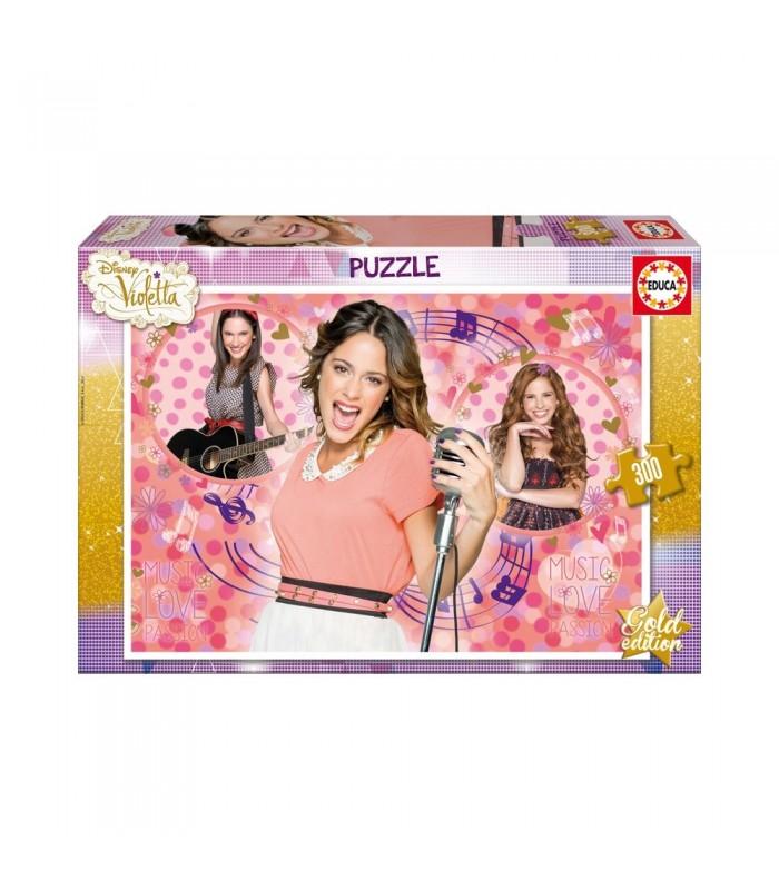 Educa Disney Violetta Arany kiadás puzzle, 300 darabos