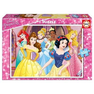 Educa Disney hercegnők puzzle, 100 darabos