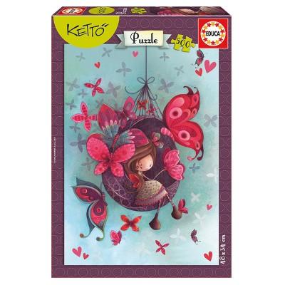 Educa Educa Fannie, Ketto puzzle, 500 darabos