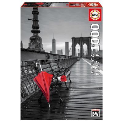 Educa Esernyő a Brooklyn hídon puzzle, 1000 darabos