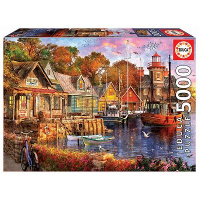 Educa Esti kitötő puzzle, 5000 darabos