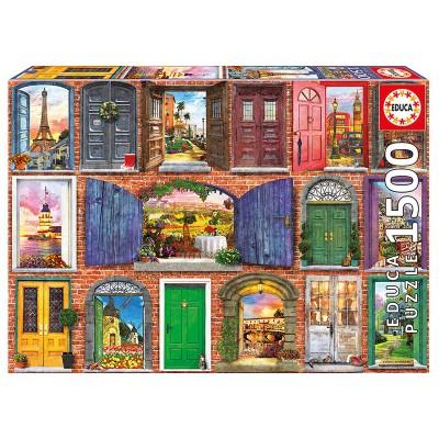Educa Európa ajtajai puzzle, 1500 darabos