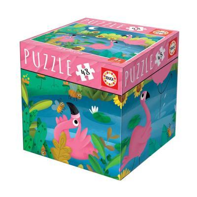 Educa Flamingo puzzle, 48 darabos