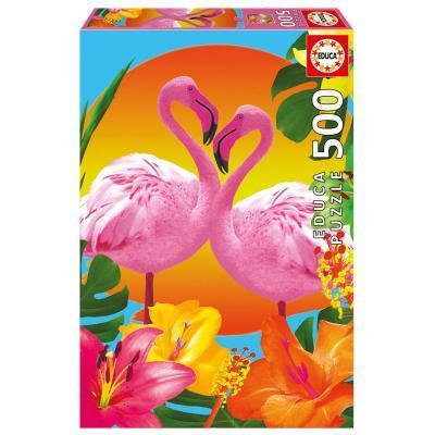 Educa Flamingo puzzle, 500 darabos