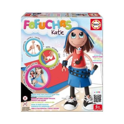Educa Fofucha kreatív baba készítő készlet, Katie