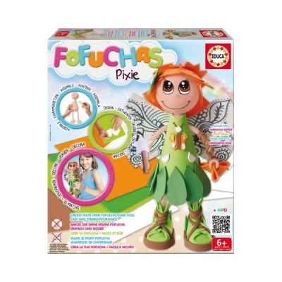 Educa Fofucha kreatív baba figura készítő, Pixie