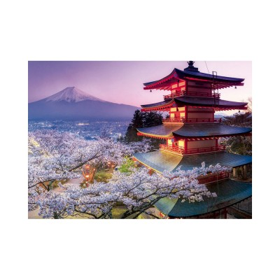 Educa Fuji hegy, Japán puzzle, 2000 darabos