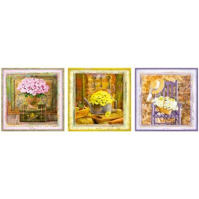 Educa Gail Marie: Bűbájos pillanatok puzzle, 3x500 darabos
