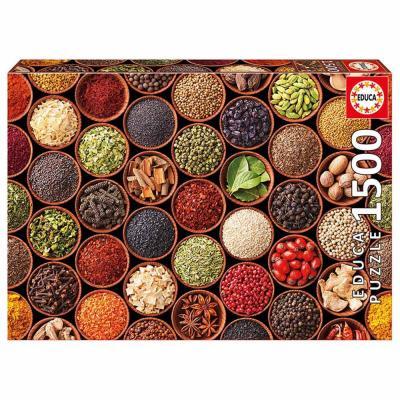 Educa Gyógy- és fűszernövények puzzle, 1500 darabos