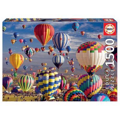 Educa Hőlégballonok puzzle, 1500 darabos