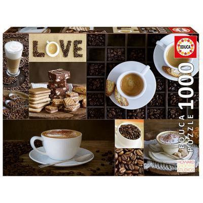 Educa Kávé puzzle, 1000 darabos