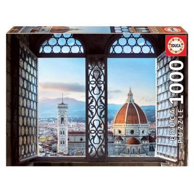 Educa Kilátás Firenzére puzzle, 1000 darabos